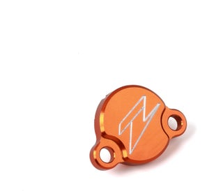 Zeta Rear Brake Reservoir Cover KTM Husqvarna 85 0317 Brake Reservoir Cover - Orange