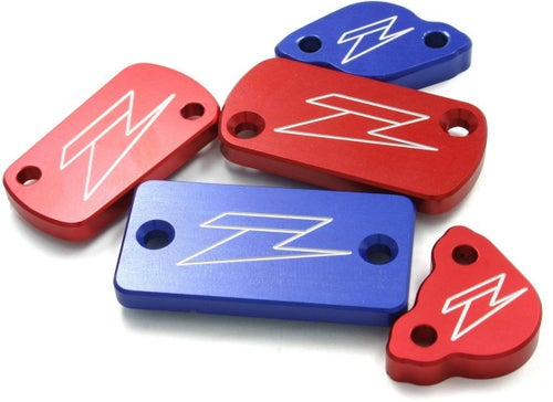 Zeta Rear Brake Reservoir Cover Yamaha Brake Reservoir Cover - Blue