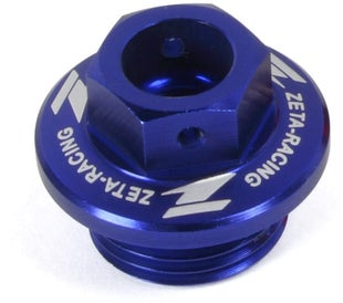 Zeta Rear Brake Reservoir Cover Husqvarna 1417 Brake Reservoir Cover - Blue