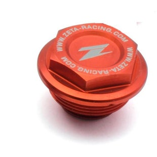 Zeta Rear Brake Reservoir Cover KTM All 0413 Brake Reservoir Cover - Orange