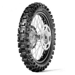 Dunlop Geomax MX3s Soft Rear Enduro and Motocross Tyre - Black