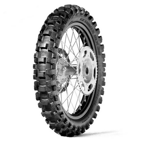 Motocross Tyre Dunlop Geomax MX3s Soft Rear Enduro and - Black