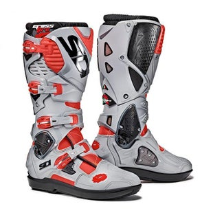 Buty MX Sidi Crossfire 3 SRS - Flou Red Grey Ash