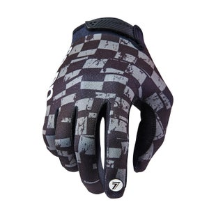 Seven 181 Annex Checkmate YOUTH Boys Motocross Gloves - Black