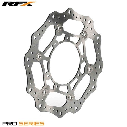 RFX Pro Floating Front Disc Black Honda CRF450 2015 , Brake Disc - Black