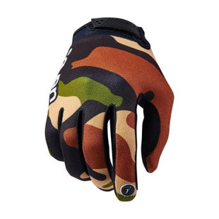 Seven 162 Annex Soldier YOUTH Boys Motocross Gloves - Black Camo