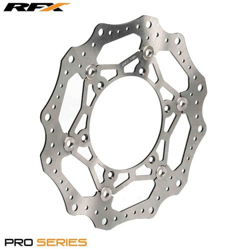 RFX Pro Floating Front Disc Black Yamaha YZF450 2016 Brake Disc - Black