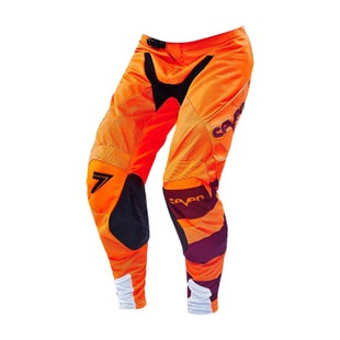 Seven 162 Rival Fuse Motocross Pants - Flou Orange Black