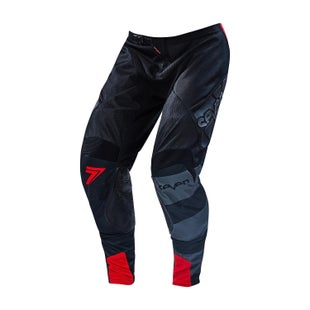 Seven 162 Rival Fuse Motocross Pants - Black Red