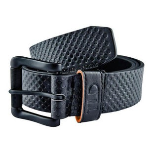 Troy Lee Grip Synthetic Belt - Black Orange