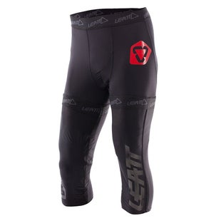 Leatt MX Motocross and Enduro Pants Protective Shorts - Black