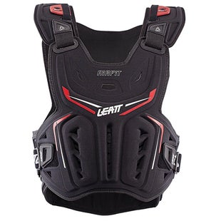 Leatt 3DF Airfit MX Motocross and Enduro Chest Protector Torso Protection - Black