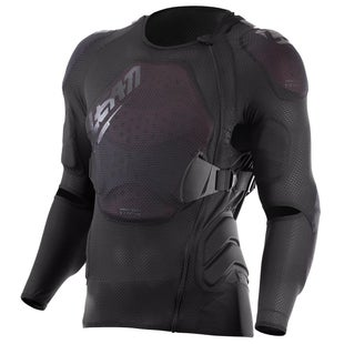 Leatt 3DF Airfit Lite MX Motocross and Enduro Body Protector Torso Protection - Black
