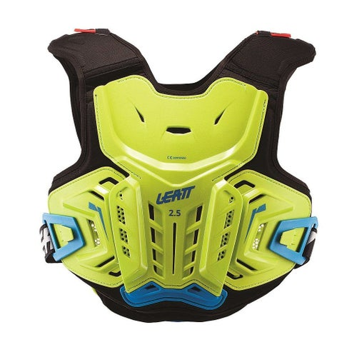 Ochraniacz tułowia Leatt 2.5 MX Motocross and Enduro Chest Protector - Lime Blue