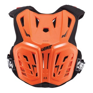 Leatt 2.5 MX Motocross and Enduro Chest Protector Torsobescherming - Orange Black