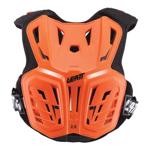 Leatt 2.5 MX Motocross and Enduro Chest Protector Body Protection - Orange Black