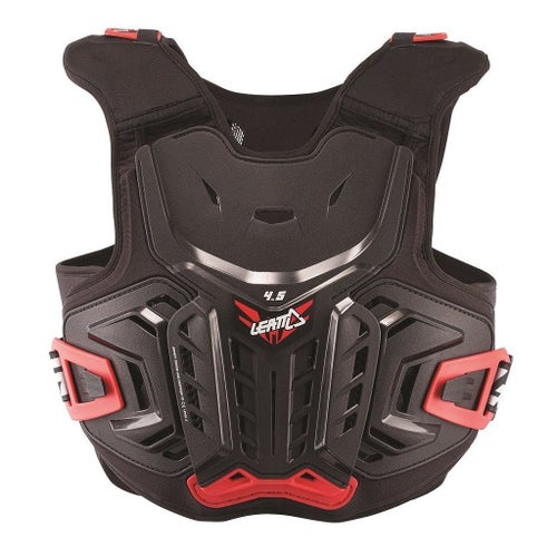 Leatt 4.5 MX Motocross and Enduro Body Protection - Black Red