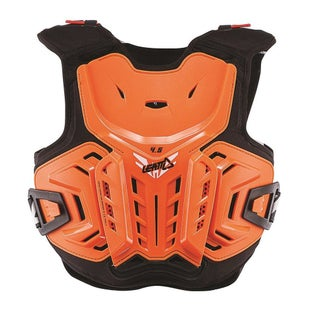 Leatt 4.5 MX Motocross and Enduro Torsobescherming - Orange White
