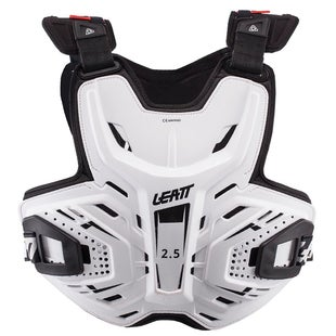 Leatt MX and Enduro 2.5 Borstbescherming - White