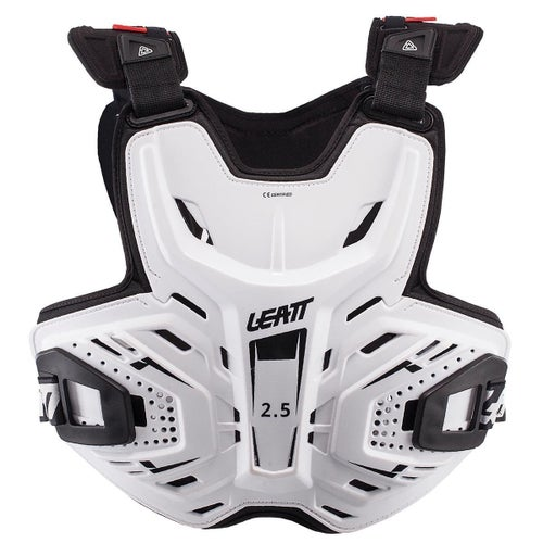 Leatt MX and Enduro 2.5 Chest Protection - White