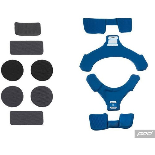 POD Pod K8 MX Pad Set RT Brace Spares - Blue