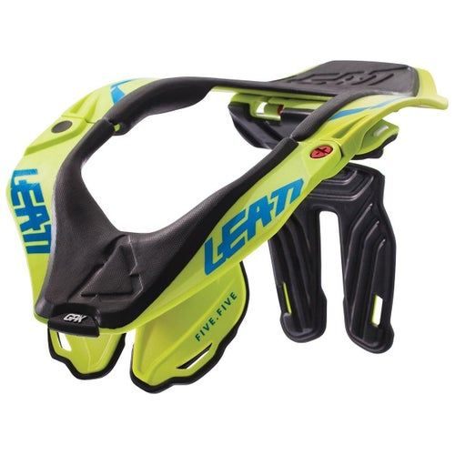 Leatt GPX 5.5 MX and Enduro Neck Brace - Lime