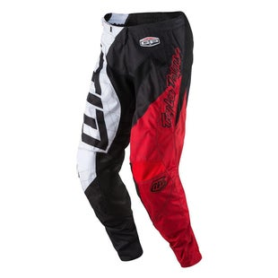 Troy Lee GP Quest YOUTH Boys Motocross Pants - Red White Black