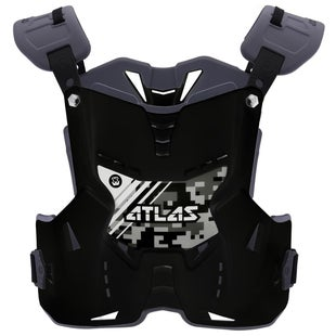 Atlas Defender YOUTH Motocross Body Armour Boys Body Protection - Digital Stealth