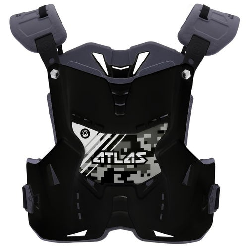 Atlas Defender YOUTH Motocross Body Armour Ochrana trupu - Digital Stealth
