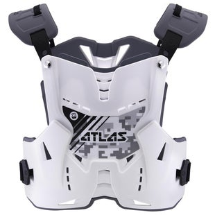 Atlas Defender YOUTH Motocross Body Armour , Bålskydd - Digital Arctic