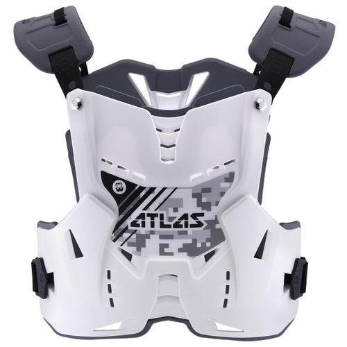 Atlas Defender YOUTH Motocross Body Armour Boys Body Protection - Digital Arctic
