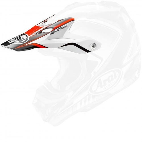 Arai MXV Speedy Helmet Peak - Red