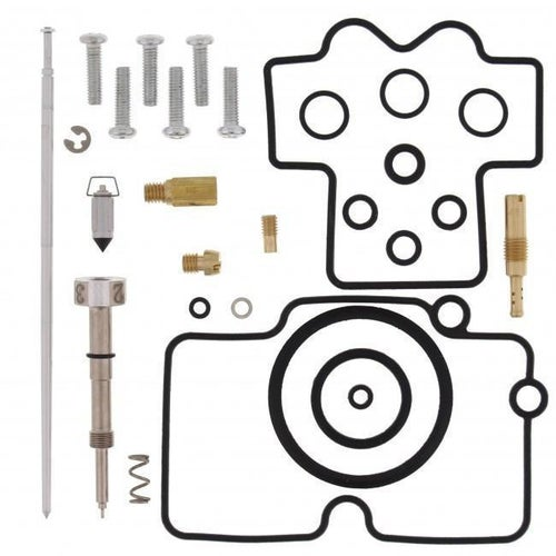 All Balls Carb Rebuild Kit Honda CRF450X 08 Carb Re-Build Kit - Black
