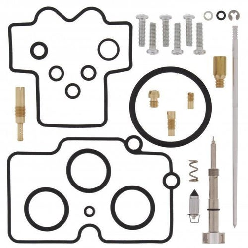All Balls Carb Rebuild Kit Honda CRF450X 05 Carb Re-Build Kit - Black