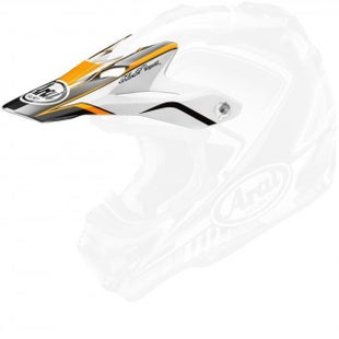Arai Spare Helmet Peak - V Speedy Orange