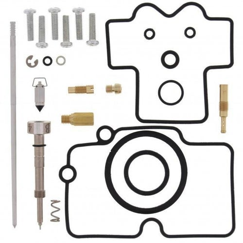 All Balls Carb Rebuild Kit Yamaha YZ450F 03 Carb Re-Build Kit - Black