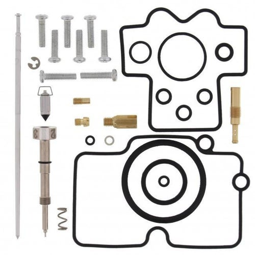 All Balls Carb Rebuild Kit Honda CRF250X 08 Carb Re-Build Kit - Black