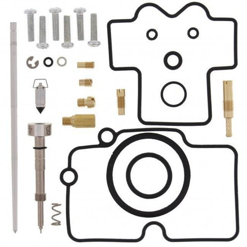 All Balls Carb Rebuild Kit Yamaha WR250F 06 Carb Re-Build Kit - Black