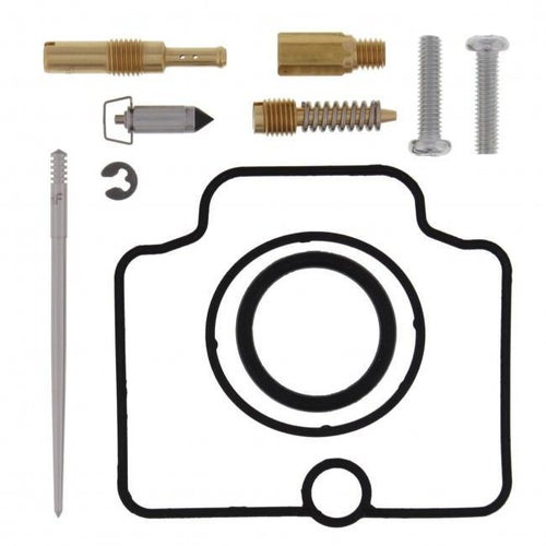 All Balls Carb Rebuild Kit Honda CR85R 03 Carb Re-Build Kit - Black