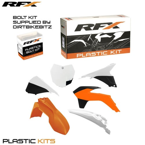 RFX Plastic Kit KTM OEM 16 SXF250 350 450 13 Plastic Kit - 15 (6 Pc Kit) w Airbox Covers