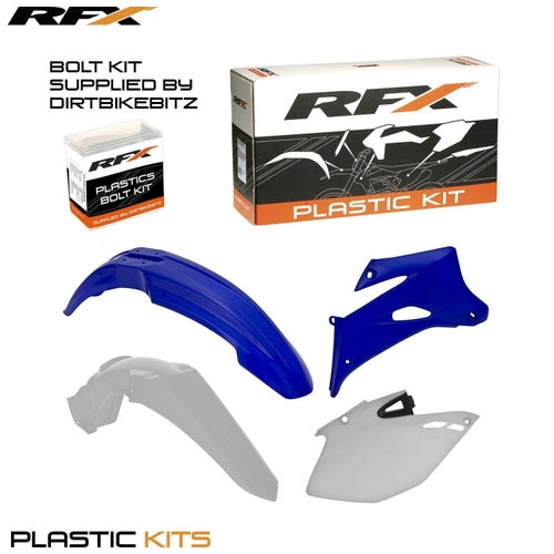 RFX Plastic Kit Yamaha OEM 13 WRF450 07 11 4 Pc Plastic Kit - Blue