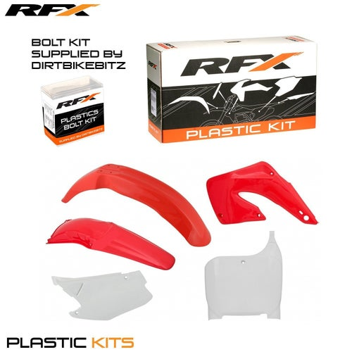 RFX Plastic Kit Honda OEM CR125250 00 Plastic Kit - 01 (5 Pc Kit)