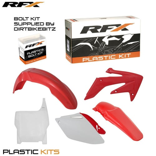 RFX Plastic Kit Honda OEM CRF250 06 Plastic Kit - 07 (5 Pc Kit)