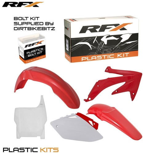 RFX Plastic Kit Honda OEM CRF450 2007 5 Pc Kit Plastic Kit - lastic Kit Honda (OEM) CRF450 2007 (5 Pc Kit)