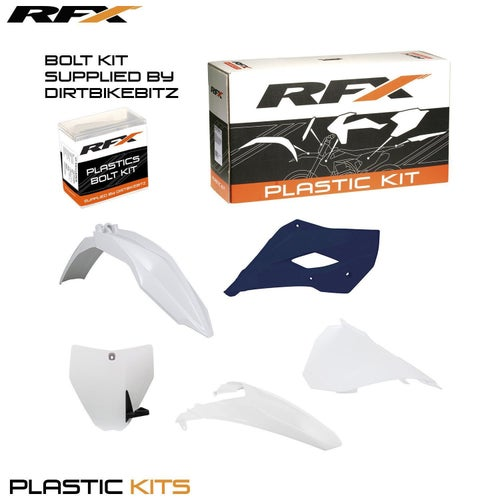 RFX Plastic Kit Husqvarna OEM TC85 14 Plastic Kit - 16 (5 Pc Kit)
