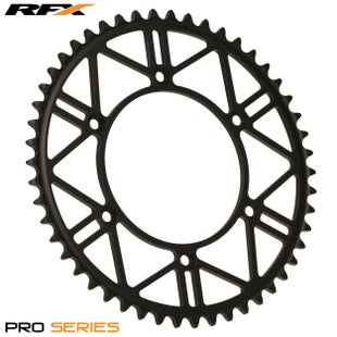 RFX Pro Series HCS Rear Sprocket Yamaha YZ125250 YZF250450 9917 , Rear Sprocket - Steel
