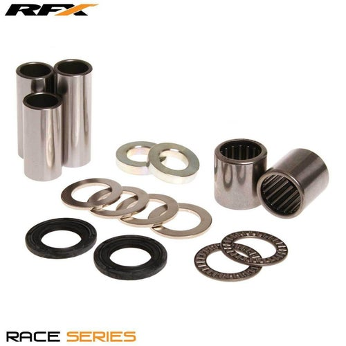 RFX Race Series Swingarm Kit Kawasaki KX125 KX250 96 Swing Arm Bearing Kit - Black