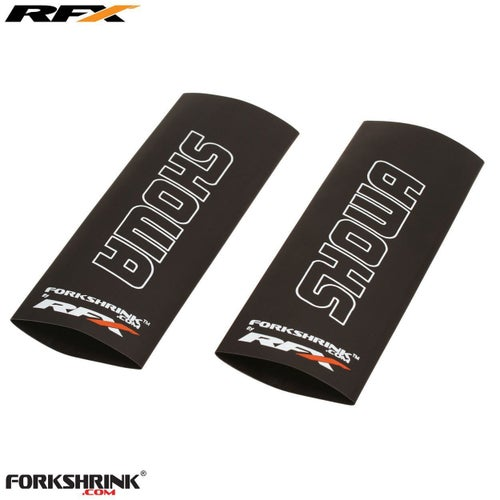 RFX Forkshrink Upper Fork Guard with Showa Logo Universal 125cc525c Fork Shrink Wrap - White