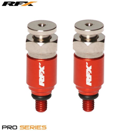 RFX Pro Fork Air Bleeders M4x07 WP Fork Bleeder - Orange