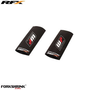 RFX Race Series Forkshrink Upper Fork Guard 65cc Upper Fork Decal - White Red